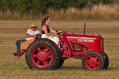 Shuttleworth July Evening Airshow 2018 (ST 251) Tags: shuttleworth airshow evening flying air display fly aircraft airplane aeroplane sky vintage piston power tractor red volunteer svas