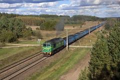 ST44-1106 (Dawid Petelicki) Tags: st44 st441106 m62 pkpcargo pkp gagarin iwan sergiej sokółka polska polishrailways