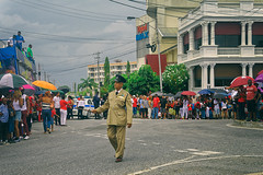Independence Day_officer for keeping order (abtabt) Tags: trinidadandtobago tt pos portofspain independence independenceday street people parade march d70028300 man uniform caribbean holiday