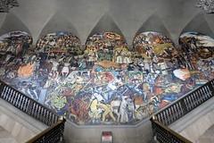 diego rivera (Luna Park) Tags: cdmx mexicocity mexico df diegorivera mural lunapark the history historyofmexico palacio national palacionational