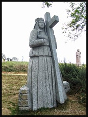 A Cross to Bare ! (JaneLouise 2017) Tags: saints statues granite