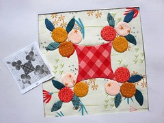 . (ompompali Claudia) Tags: applique handstitching handquilted patchwork chucknohara