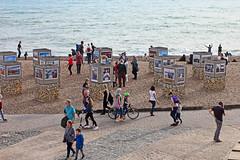 Brighton and Hove Photo Biennial and Photo Fringe  2018 ( in explore ;-)))) (Finding Chris) Tags: inexplore explored chrisbarbaraarps canon60d brightonandhove brightonbeach photobiennial brightonandhovecameraclub exhibition