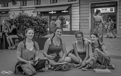 Smiles 18June 09, 2018.jpg (outlaw.photography) Tags: streetphotograohy slovenia june2018 outlawphotography infinityimages chrisdaugherty city friends europe062018 architecture ljubljana people photography streets light