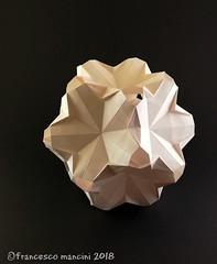 Chimneys (mancinerie) Tags: origami modularorigami paperfolding francescomancini mancinerie papiroflexia papierfalten pentagon dodecahedron