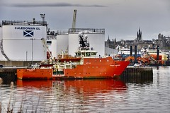 Grampian Confidence - Aberdeen Harbour Scotland - 2018 (DanoAberdeen) Tags: grampianconfidence danoaberdeen danophotography dock docks scotland spring scotia schotland seafarers amateur aberdeen aberdeenscotland abdn abz aberdeenharbour aberdeencity candid cargoships vessels vessel bluesky bonnyscotland boats boat nikond750 northsea northeast northseasupplyships psv pocraquay plage port lifeatsea uk summer seaport shipspotting footdee fittie transport winter workboats wasser watercraft water weather ecosse engine recent riverdee river tug tugboat torry tugboats unitedkingdom iskoçya imo offshore oilships oilrigs offshoreships harbour geotagged freshair bonnie maritime merchantnavy merchantships