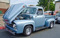 53 Ford  F100Pickup (creepingvinesimages) Tags: htt pickup ford f100 classic custom vintage carshow mountangel oregon outdoors octoberfest