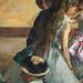 DEGAS Edgar,1880-81 - Le Foyer de la Danse (Philadelphie) - Detail 26