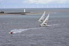 20180828 Liverpool - UK (MANOLOSK) Tags: liverpool perch lighthouse perchrocklighthouse newbrightonlighthouse rock clipper roundtheworld yacht race mersey river