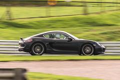 Porsche Cayman 981 - Oulton Park (Adam Court) Tags: porsche cayman 981 oulton park track car cascades circuit line chase grass sun slow