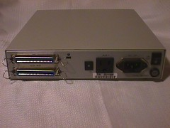 SCSI HDD: rear-view (DigitalColophon) Tags: beige scsi storage harddrive dataplacestorage power