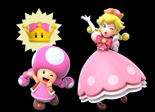 New Super Mario Bros. U Deluxe Peachette screenshot