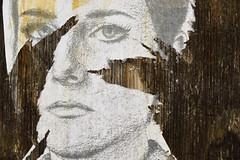 #STWTS (radargeek) Tags: stwts stoptellingwomentosmile okc oklahomacity downtown wheatpaste poster tag wood woman women portrait face