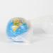 Globe inside plastic bag