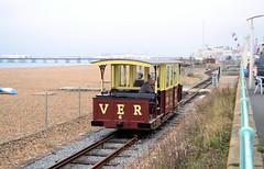 Volk's Electric Railway (R~P~M) Tags: train railway electric narrowgauge volkselectricrailway brighton brightonhove eastsussex england uk unitedkingdom greatbritain