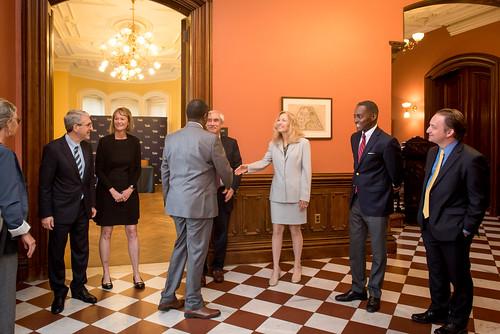 Rwanda Signs Agreement with Yale University   New Haven, USA