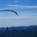paragliding with sky.