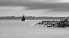 Lighthouse (Cajofavi) Tags: fs181028 langexponering longexposure fotosondag sky sea lighthouse shore nd kalmar sweden