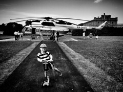 St. Petersburg | Russia (maryduniants) Tags: balticairlines helicopter kid blackandwhite landingsite fortress stpetersburg russia landing sites playground