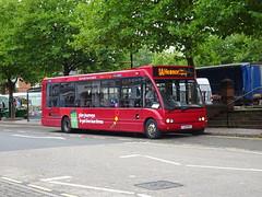 trent barton 475 Ripley (Guy Arab UF) Tags: trent barton 475 fj09mvz optare solo m920 bus ripley market place derbyshire wellglade buses wellgladegroup