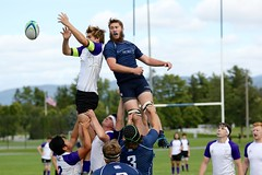 Lineout (stephencharlesjames) Tags: college sports ball sport rugby action middlebury vermont amherst ncaa