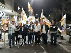 21/09/18 - Visita à comunidade de Arcoverde em Carlos Barbosa, com o vereador Miguel Stanislososki.