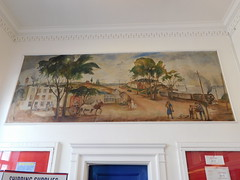 Clinton, Connecticut Post Office Mural (jimmywayne) Tags: clinton connecticut middlesexcounty postoffice historic mural newdeal