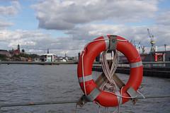 lifebelt (Frank S (aka Knarfs1)) Tags: port deutschland germany lifebelt hafen harbour