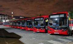 Buses (radio53) Tags: waterloo se1 transport bus southwark london huaweip20pro