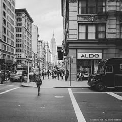 new york cityscape (regolare) Tags: nyc newyork manhattan city urban streetphotography street blackandwhite monochrome regolare neropece buildings empirestatebuilding usa