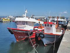 M2110085 E-M1ii 19mm iso200 f8 1_640s 0 (Mel Stephens) Tags: galicia holiday o grove spain 20180911 201809 2018 q3 4x3 wide olympus mzuiko mft microfourthirds m43 1240mm pro omd em1ii ii mirrorless transport boat coast coastal