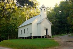 Missionary Baptist Church (M R Stephens) Tags: greatsmokymountains cadescove appalachia church baptist 1800s