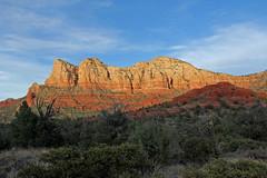 The Light and the Dark (craigsanders429) Tags: lightandshadows latedaylighting latedaylightphotographs redrocks rocks sedonaarizona arizona arizonamountains mountainpeaks