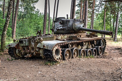 Military zone (Oto Burger) Tags: machine military corrosion forgotten decay abandoned engine wreck tank urban exploration urbex