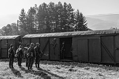 DSC_6177 (Rivo 23) Tags: bdz bulgarian state railways steam locomotive 0123 dampflok world war 2 event reconstruction ww2 battle bulgaria germany historic 1944 september операция девебаир гюешево втора световна война битка парен локомотив влак българска войска