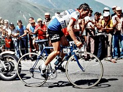 1976 TDF Little Big Man (Sallanches 1964) Tags: tourdefrance 1976 kingofthemountains tourdefrancewinners lucienvanimpe belgiancyclists pladadet roadcycling lagrandeboucle