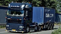 NL - Jan van der Meer DAF XF 105.510 SSC (BonsaiTruck) Tags: jan meer daf lkw lastwagen lastzug truck trucks lorry lorries camion caminhoes