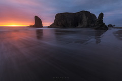 Bandon, Oregon (Mark McLeod 80) Tags: 2018 bandon markmcleod markmcleodphotography oregon oregoncoast sunset coast fall moody mountains seascape sunrise