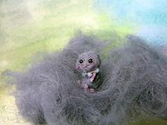 136-cloud 23mm (3) (tinyteensdolls) Tags: amigurumi amigurumidoll crochet craft crochetmini crochetminiature crochettoy crochetdoll miniature microcrochet mini micro minicrochet miniamigurumi toy tinyamigurumi tiny teddy threadcrochet small handmade cloud