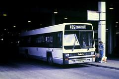 Slide 125-26 (Steve Guess) Tags: doncaster south yorkshire england gb uk bus station leyland lynx c920fmp west riding