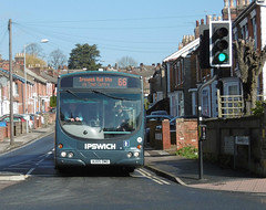 First AU05DMO 29 March 2018 (The original SimonB) Tags: transport buses ipswich suffolk march 2018