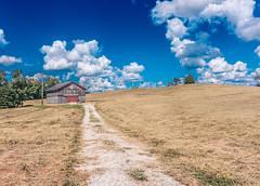 DSC_3450 (tsmartin75) Tags: barn outdoors sky field clouds cloudporn skyporn wv westvirginia wvexplored ashtonwv nikon nikond7200 tokina tokina1116 lightroom lightroom6 nature landscape