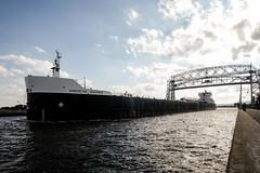 American Mariner, Duluth 9/13/18 #lakefreighter #shipping #lakesuperior #greatlakes #canalpark #liftbridge (Sharon Mollerus) Tags: duluth minnesota unitedstates us cfptig18