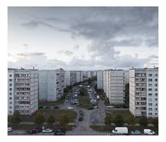 Riga, Ziepniekkalns (03.10.2018) (urban.photo.lv) Tags: ziepniekkalns riga landscape post soviet urban suburbs concrete residential buildings