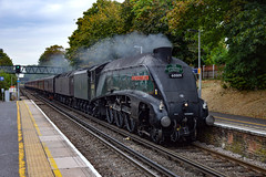 60009 - Hounslow - 14/08/18. (TRphotography04) Tags: lner a4 pacific 60009 union south africa idles past hounslow working the cathedrals express 1y50 0845 london victoria weymouth
