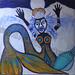 """Blue Mermaid"" by Patricia H, acrylic, $250.00"