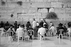 An Invocation (stephen cosh) Tags: leicammonochromtyp246 blackandwhite candid israel jerusalem leica35mmsummilux prayer stephencosh streetphotography thewesternwall