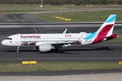 D-AEWS 29092018 (Tristar1011) Tags: eddl dus düsseldorf eurowings airbus a320200 a320 daews aviscarhire