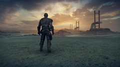 Mad Max_20181012182031 (Livid Lazan) Tags: mad max videogame playstation 4 ps4 pro warner brothers war boys dystopia australia desert wasteland sand dune rock valley hills violence motor car automobile death race brawl scenery wallpaper drive sky cloud action adventure divine outback gasoline guzzoline dystopian chum bucket black finger v8 v6 machine religion survivor sun storm dust bowl buggy suv offroad combat future