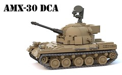 AMX-30 DCA (Matthew McCall) Tags: lego tank armor war antiair selfpropelled spaag military amx30 dca france french moc